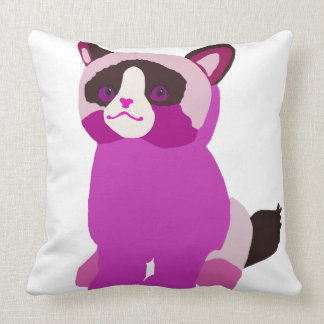 Pink Cutie Throw Pillow