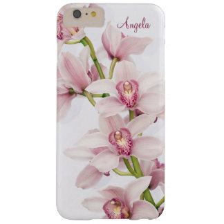 Pink Cymbidium Orchid Floral Barely There iPhone 6 Plus Case