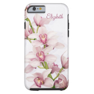 Pink Cymbidium Orchid Floral iPhone 6 case Vibe Ca Tough iPhone 6 Case