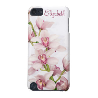 Pink Cymbidium Orchid Floral iPod Touch (5th Generation) Cover
