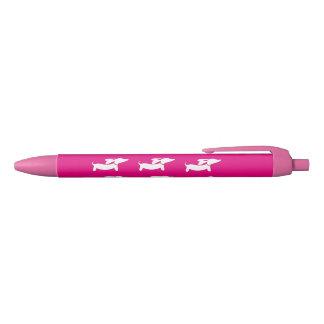 Pink Dachshund Wiener Dog Pen