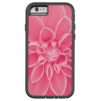 Pink dahlia flower tough xtreme iPhone 6 case
