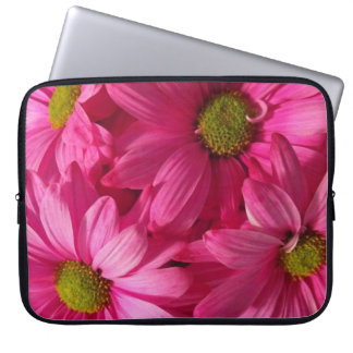 Pink Daisies Laptop Sleeve