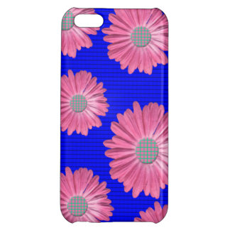 pink daisy iphone 5c matte finish case case for iPhone 5C
