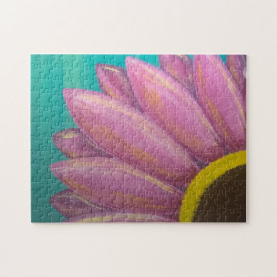 Pink Daisy Puzzle