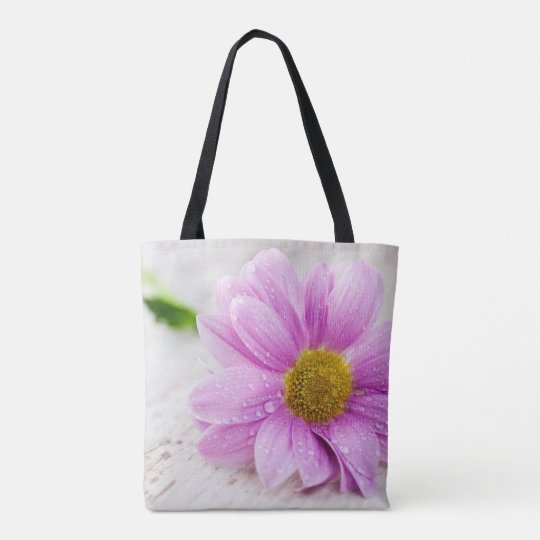 Pink Daisy  Tote