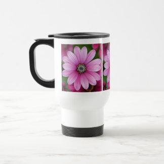Pink Daisy Travel Mug
