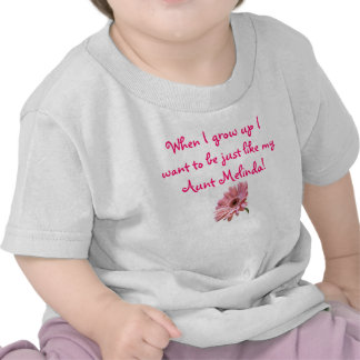 pink daisy When I grow up I want to be just li T Shirt