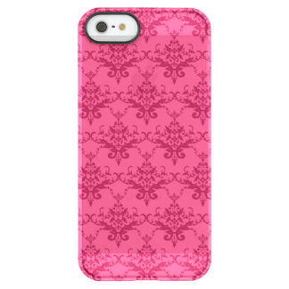 Pink damask uncommon permafrost® deflector iPhone 5 case