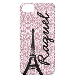 Pink Damask Paris Customizable iPhone 5 Case