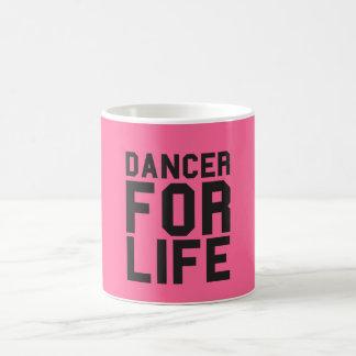 Pink Dancer for Life Coffee Mug