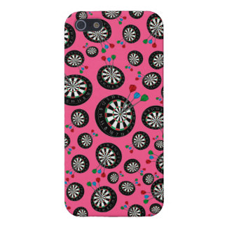 Pink dartboards case for iPhone 5/5S