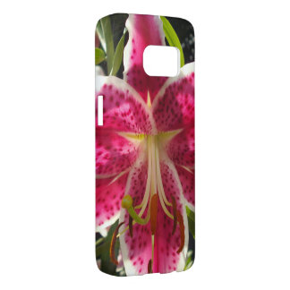 Pink Day Lily Samsung Galaxy S7 Case