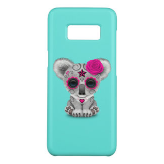 Pink Day of the Dead Baby Koala Case-Mate Samsung Galaxy S8 Case