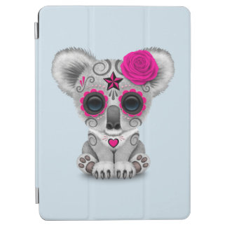 Pink Day of the Dead Baby Koala iPad Air Cover