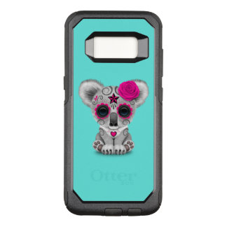 Pink Day of the Dead Baby Koala OtterBox Commuter Samsung Galaxy S8 Case