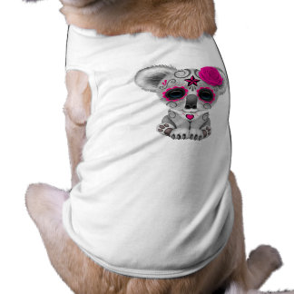 Pink Day of the Dead Baby Koala Shirt