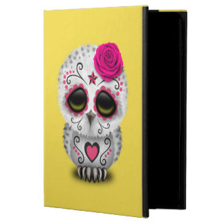 Pink Day of the Dead Baby Owl Powis iPad Air 2 Case