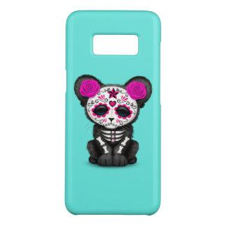 Pink Day of the Dead Black Panther Cub Case-Mate Samsung Galaxy S8 Case