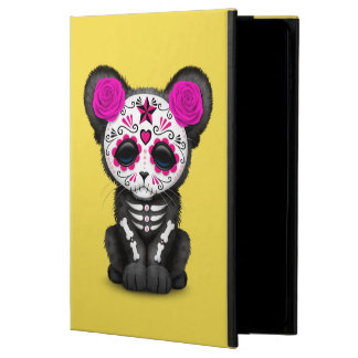 Pink Day of the Dead Black Panther Cub Powis iPad Air 2 Case