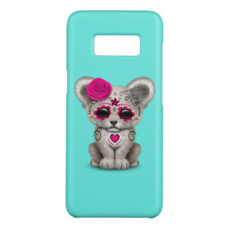 Pink Day of the Dead Lion Cub Case-Mate Samsung Galaxy S8 Case
