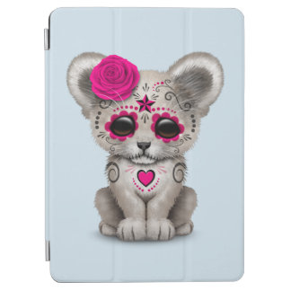 Pink Day of the Dead Lion Cub iPad Air Cover