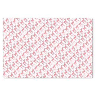 Pink Deer Pattern Tissue Paper