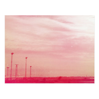 Pink Denmark Postcard
