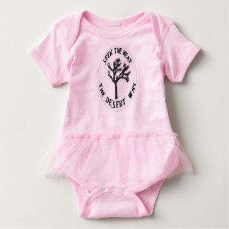 Pink Desert Way Baby Girl's Tutu Baby Bodysuit