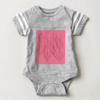 PINK DESIGN ELEMENTS  FOLK BABY BODYSUIT