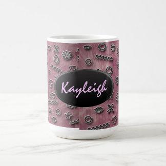 Pink Designer Mug