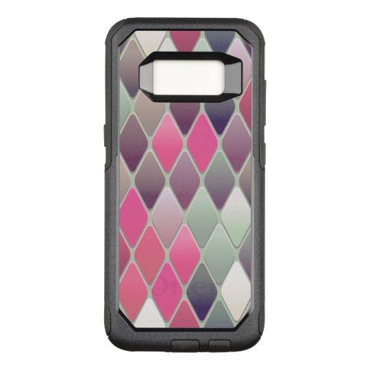Pink Diamond Mosaic OtterBox Commuter Samsung Galaxy S8 Case