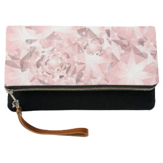 Pink Diamond Sparkle on Light Pastel Brilliant Clutch