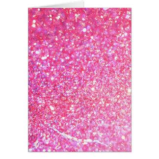 Pink Diamond Style Card