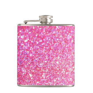 Pink Diamond Style Flask