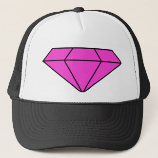 Pink Diamond Trucker Hat