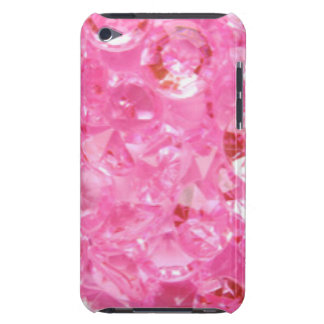 Pink Diamonds Barely There iPod Cover