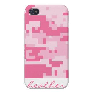 Pink Digital ACU Camoflage Pattern iPhone 4 Case