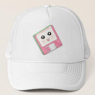 Pink Diskette Trucker Hat
