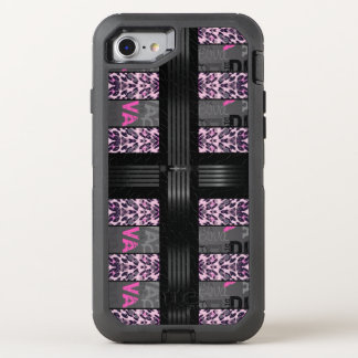 Pink Diva Pink Cheetah OtterBox Defender iPhone 7 Case