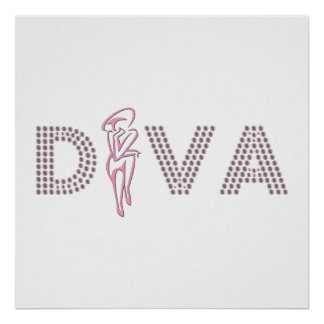 Pink Diva Poster