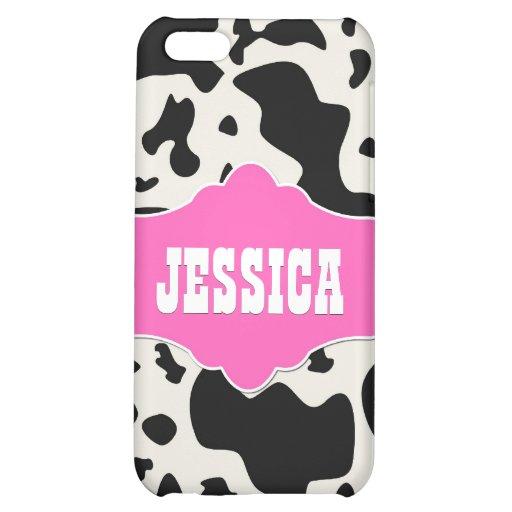 Pink Divine Bovine iPhone 5C Cases