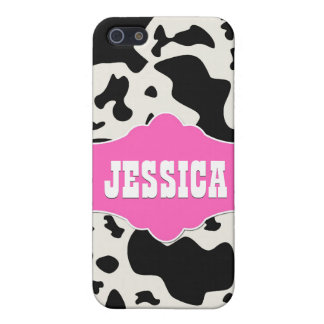 Pink Divine Bovine Cases For iPhone 5