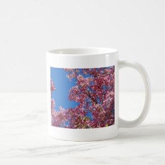 Pink Dogwood and Blue Sky Coffee Mug
