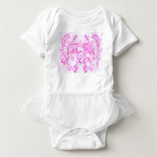 Pink Dogwood Blossom Baby Bodysuit