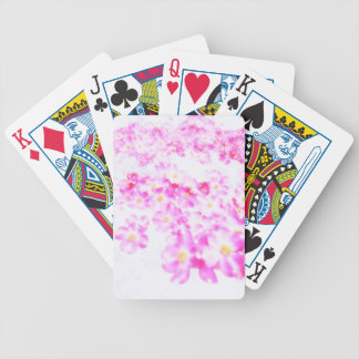 Pink Dogwood Blossom Bicycle Playing Cards