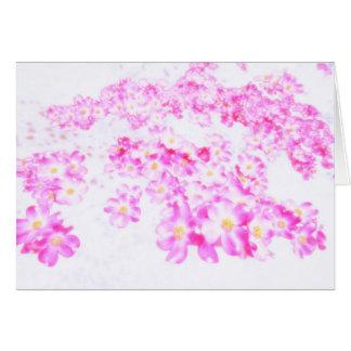 Pink Dogwood Blossom Card