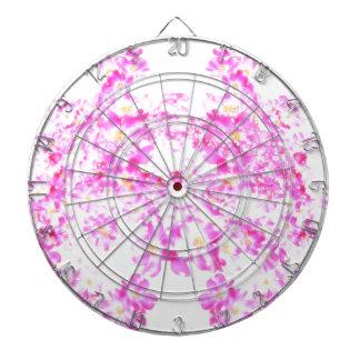 Pink Dogwood Blossom Dartboard