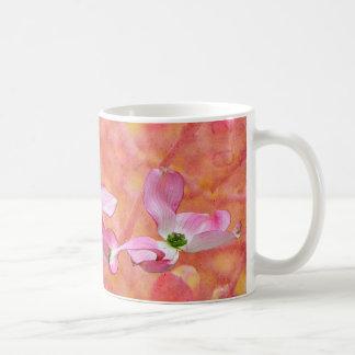 Pink Dogwood Blossom Design Mug
