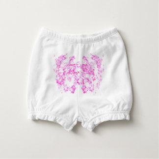 Pink Dogwood Blossom Diaper Cover